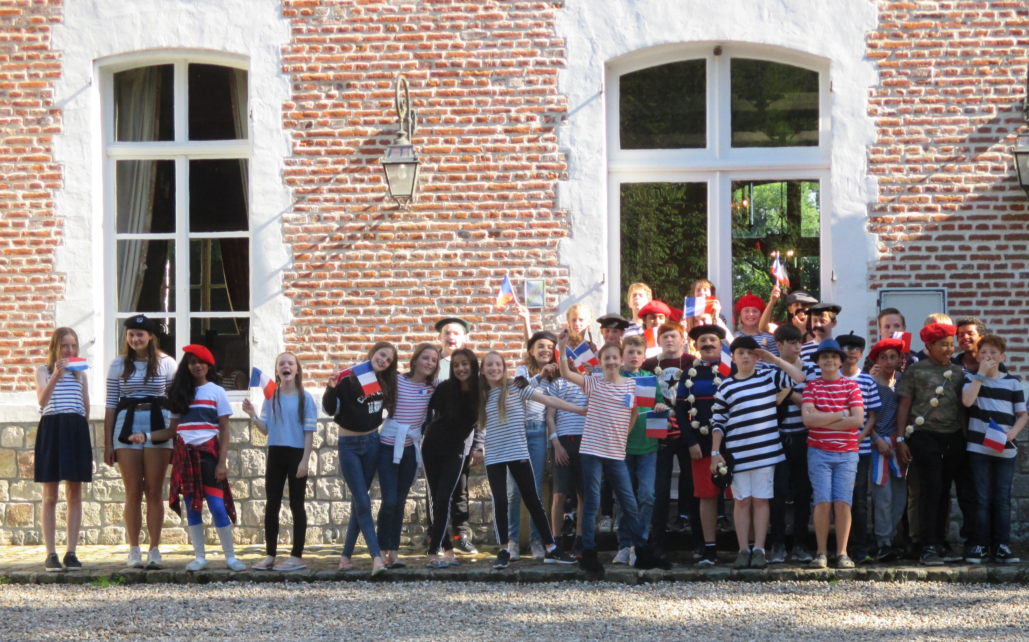 Year 7 enjoy a residential trip to France, staying in a chateau!
