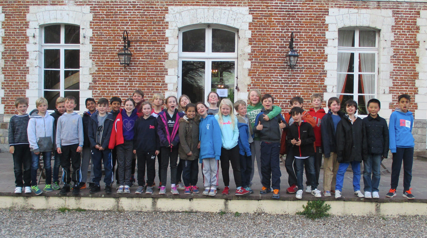 Year 5 enjoy a residential trip to France, staying in a chateau!